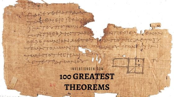 100 Greatest Theorems of All Time