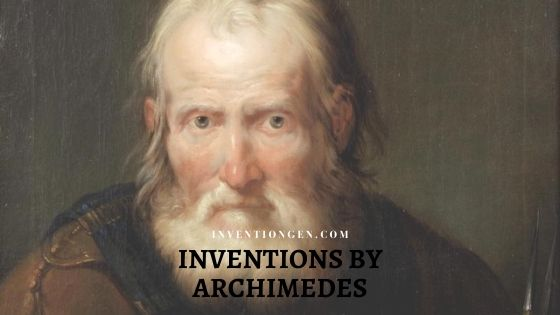 Inventions by Archimedes