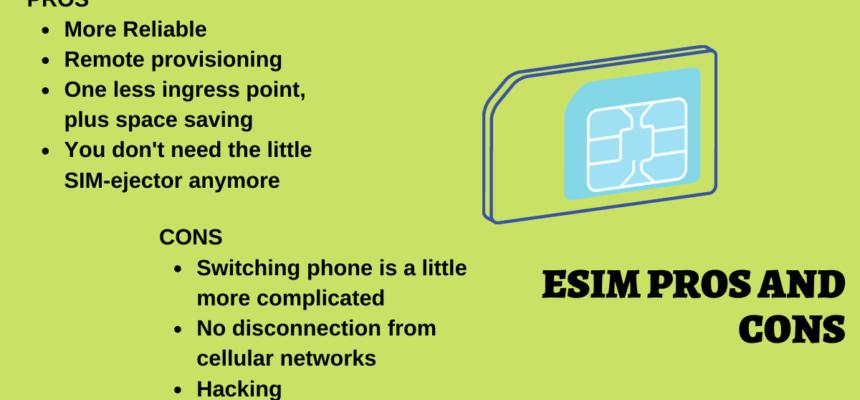 7 eSIM Advantages and Disadvantages – Pros | Cons