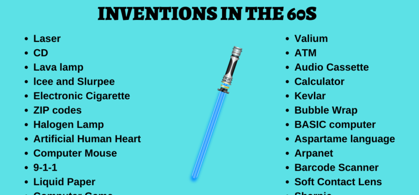 24 Great Inventions in the 60s That Still Exist