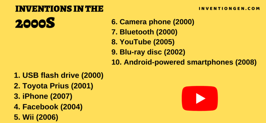 10 Excellent Inventions of the 2000s Timeline