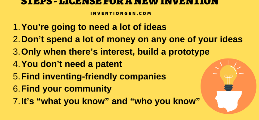 7 Easy Steps to Have the License for A New Invention