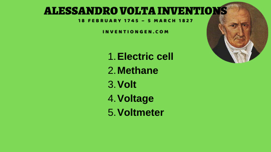 5 Great Alessandro Volta Inventions and Discoveries
