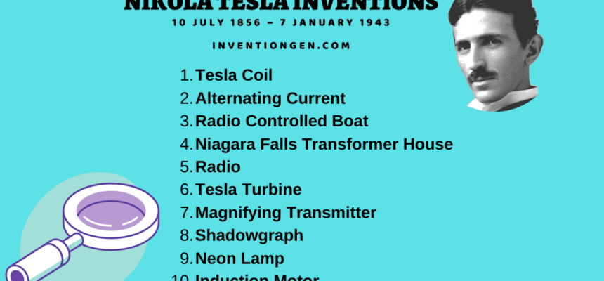 24 Nikola Tesla Inventions, Work, Contributions